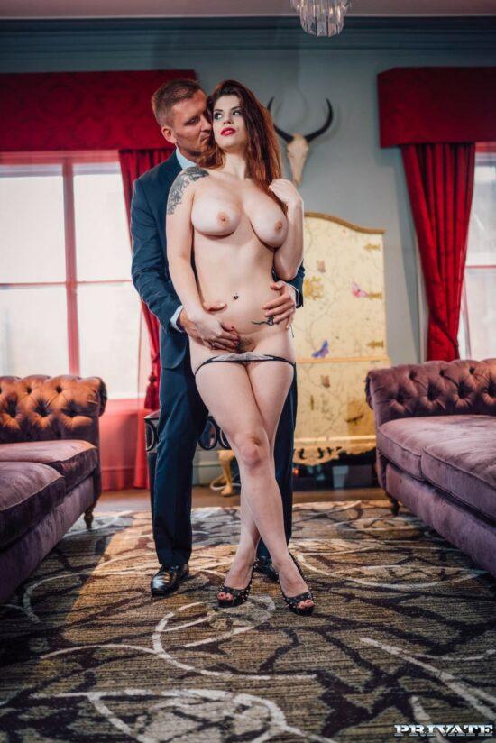 Fotos de ruiva fazendo sexo anal com dotado
