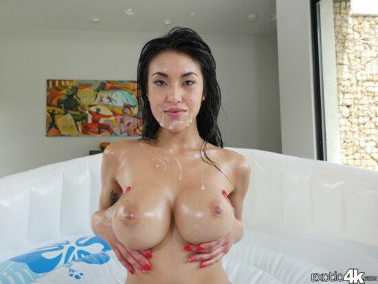 Fotos de sexo bruto anal com gozada na cara